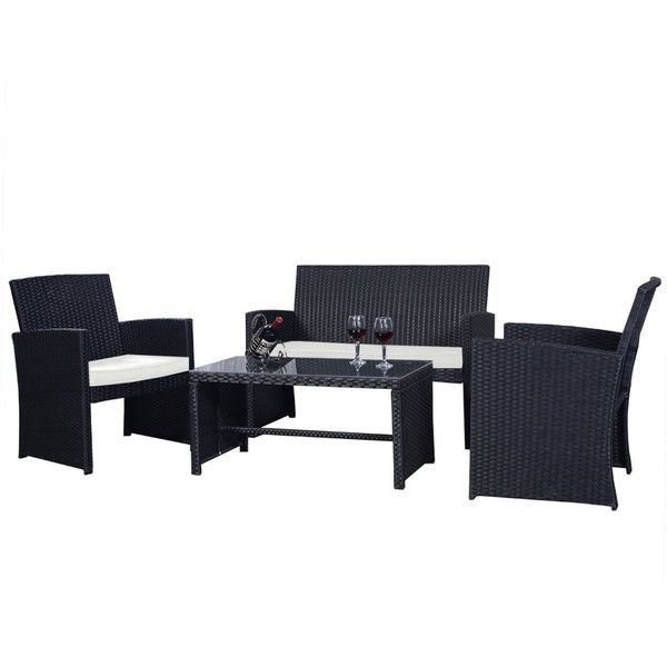 Best 25 Black Outdoor Furniture Ideas On Pinterest Black Rattan Garden Furniture Designer Outdoor Furniture And Black Conservatory Furniture