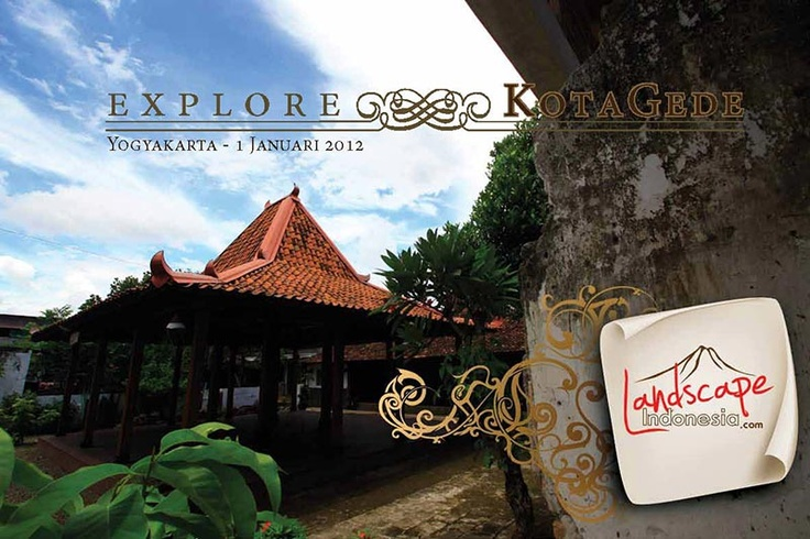 Kota Gede .....explore the historical alley in Yogyakarta. You can download the ebook here :)