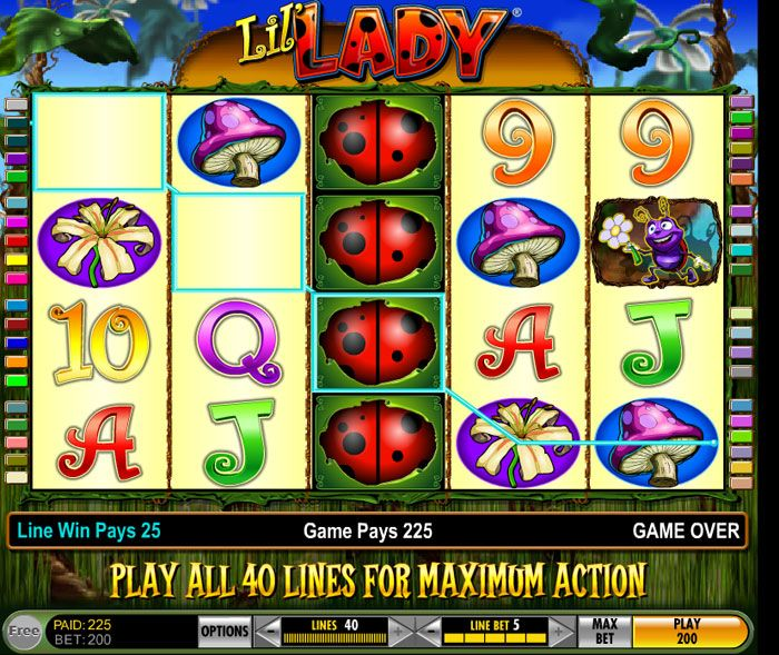 double down slots lil lady bug   Lil' Lady Slot Review