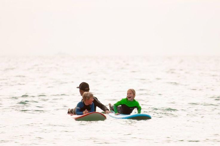 Surfing class for kids in Tarifa | Lekce surfování pro děti v Tarifě