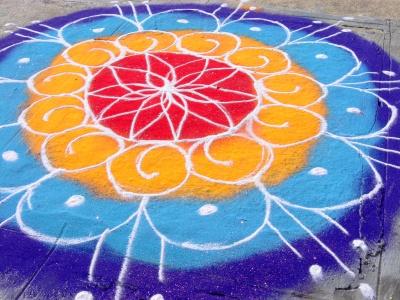 Visual Art - Rangoli [Diwali]