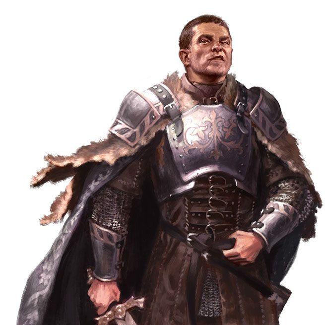 Proud noble, warrior, swordman, rpg, DnD, D&D concept art, fantasy character By Winona Nelson