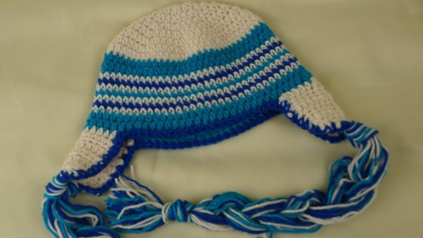 Crochet Hat Pattern One Year Old : Try this free Pattern. 1 - 3 Year Old Baby Hat for ...
