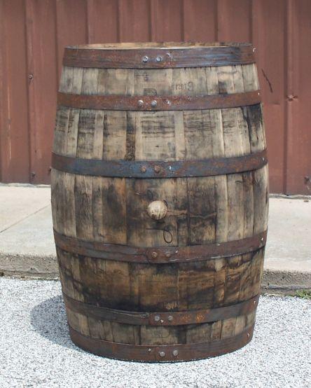White Whiskey Barrel ~ Best images about barrels on pinterest