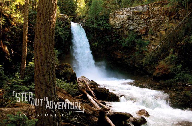 Sutherland Falls, Revelstoke BC.