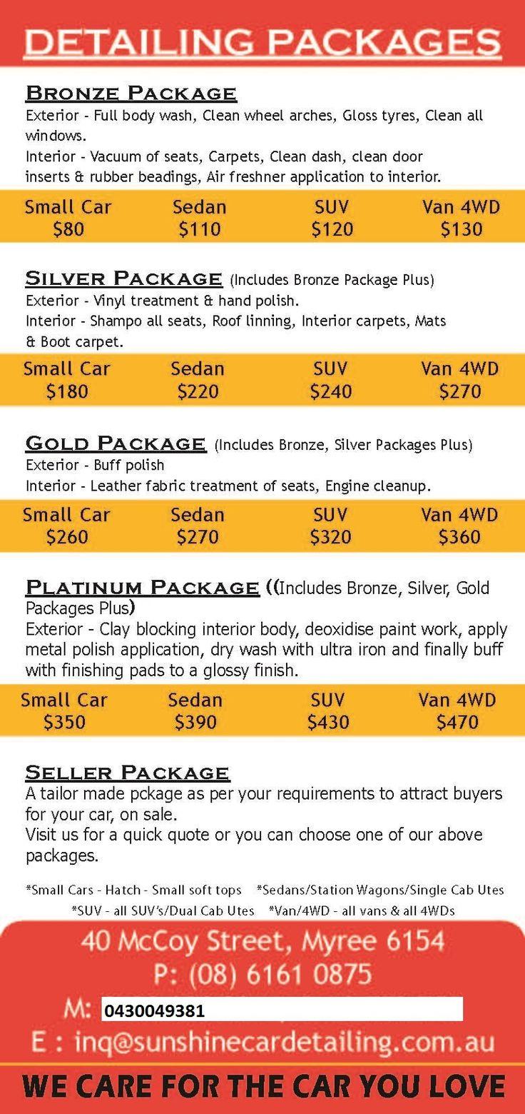 Car Interior Detailing Prices in 2020 Car detailing