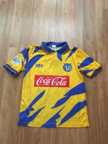 6111a91ef9f ABA Sport Tigres UANL 1995/1996 Home Liga MX Football Soccer Jersey Size  Medium