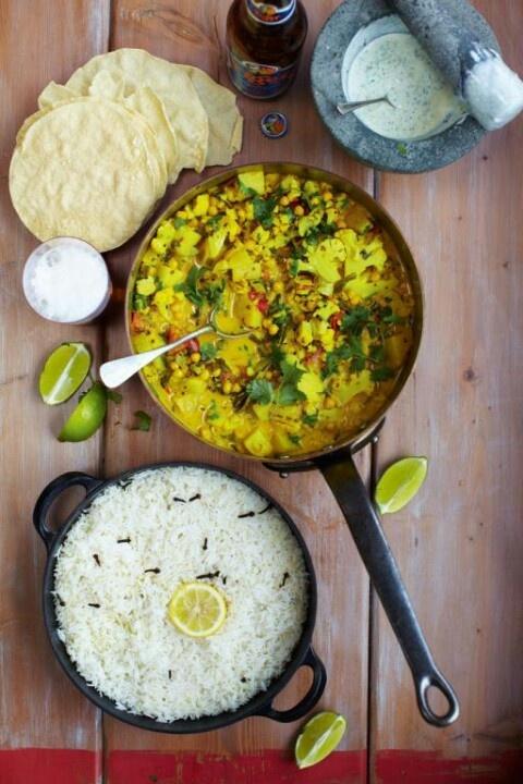 Jamie Oliver vegetarian curry