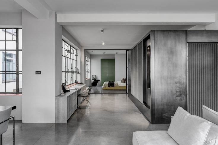 Residence Clerkenwell London is a minimal home located in London, England, designed by APA.