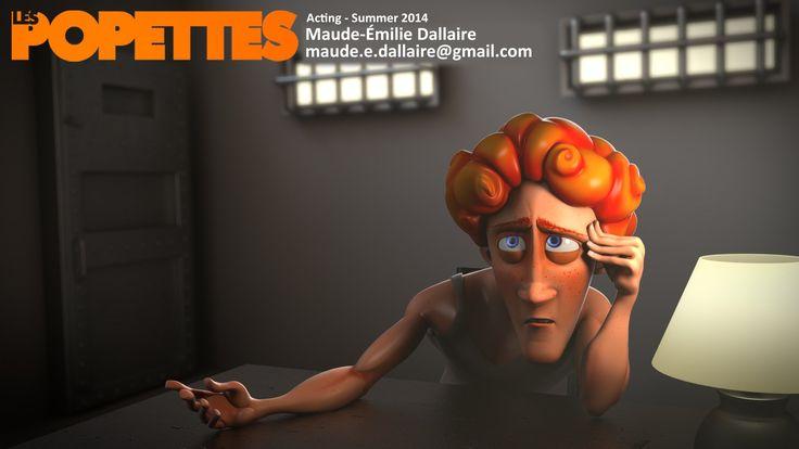 LES POPETTES - SUMMER 2014 - Maude-Émilie Dallaire - Acting | Squeeze Studio Animation