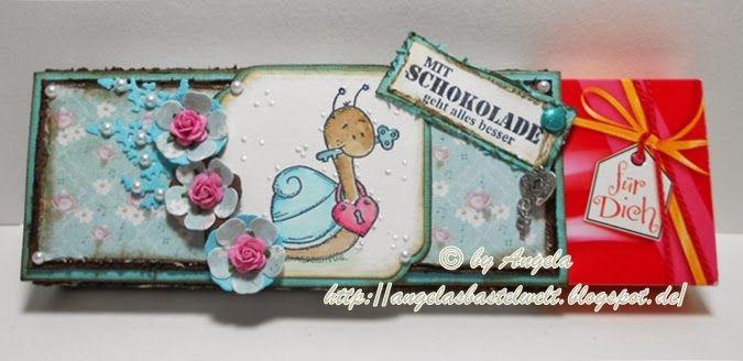 ♥ Schokiverpackung mit LeLo Schnecke ♥