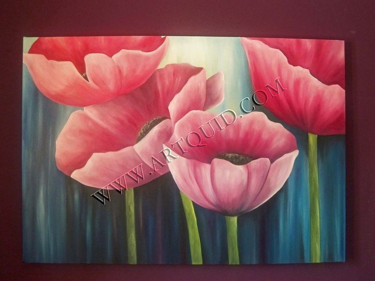 free download cuadros flores leo pinturas modernas hd wallpaper