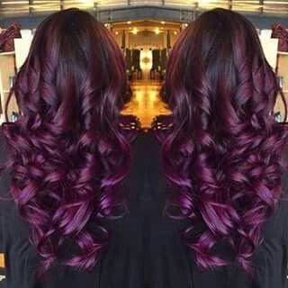 Violeta rojizo, lindo! !