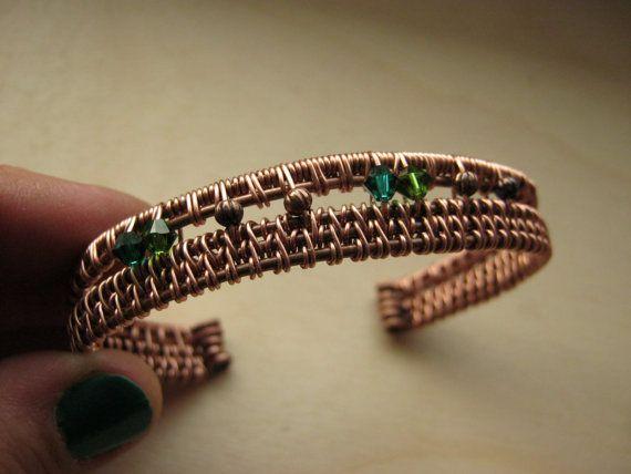 wrist cuff copper cuff copper bracelet wire bracelet wire