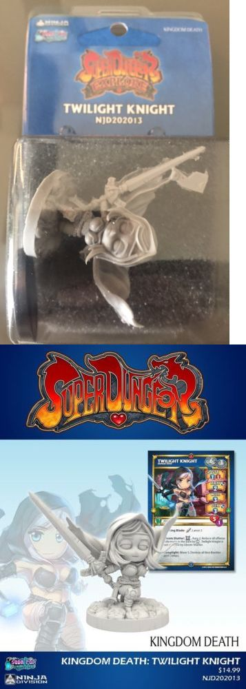 Other Miniatures and War Games 2537: Super Dungeon Explore Kingdom Death Gencon Exclusive Twilight Knight -> BUY IT NOW ONLY: $55 on eBay!