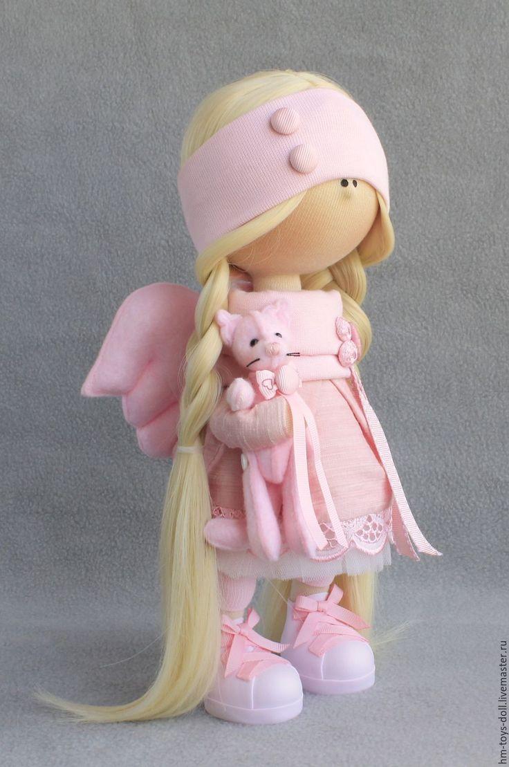 Купить кукла Ангел - комбинированный, кукла ручной работы, кукла, кукла в подарок, кукла интерьерная