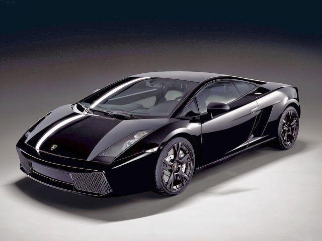 Mobil Keren Lamborghini Galardo Nera Hitam