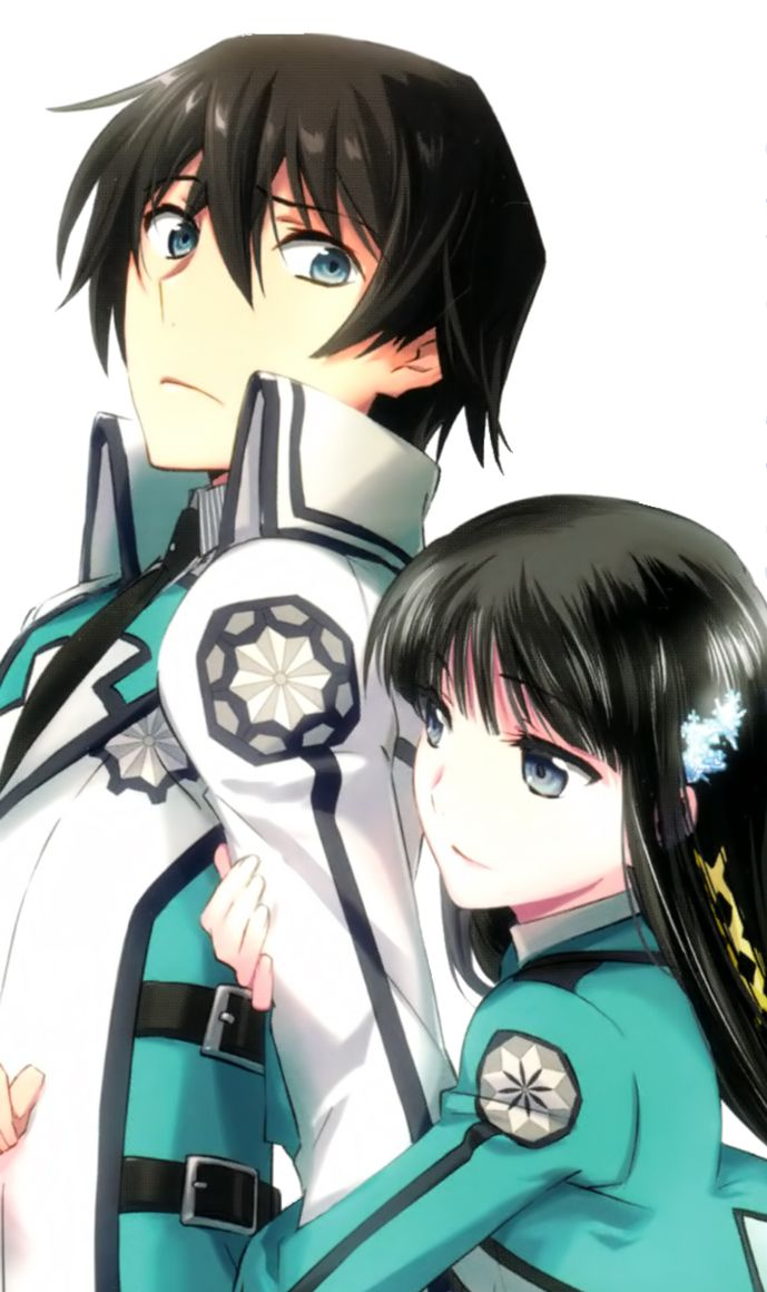 mahouka koukou no rettousei OHMYGLOP IM IN LUVV WITH THIS ANIME! started and up to date in 2 days ( yes im weird )