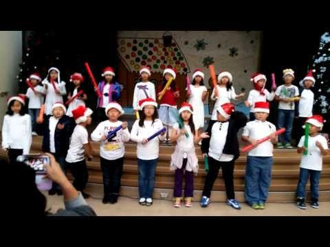 Jingle Bells Boomwhackers by my 3rd graders!!!! - YouTube