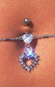 Vente de piercing nombril chaine Dyanco Piercing Lyon