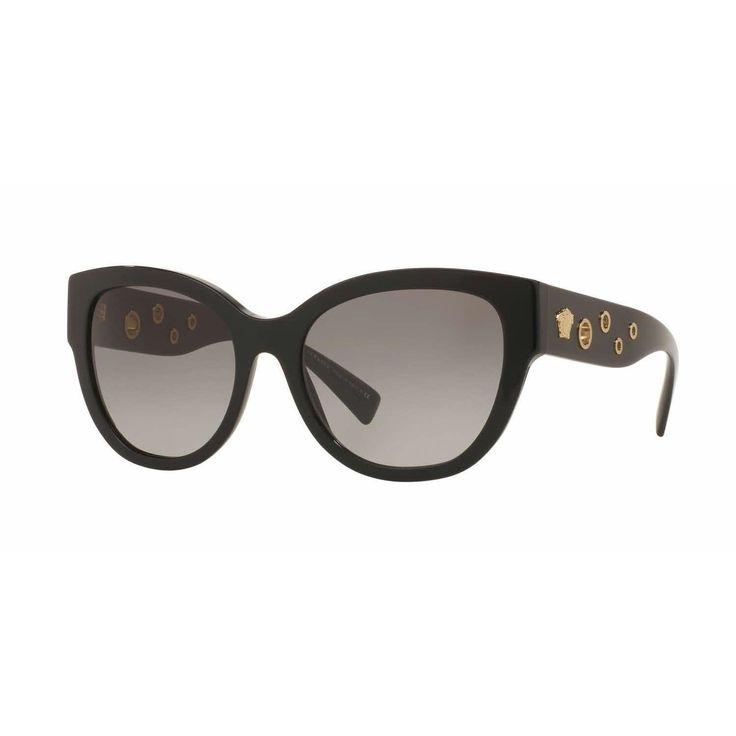 Versace Women VE4314A GB1/11 Rectangle Sunglasses