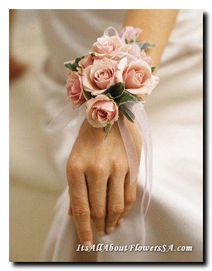 Rose Bridesmaid Corsage
