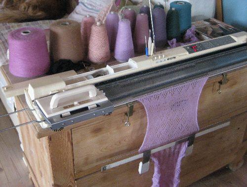 My knitting machine