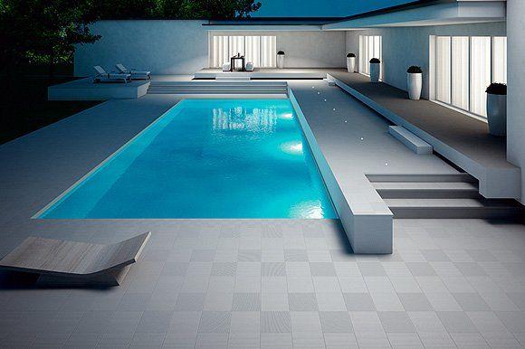 Outdoor Swimming pool Tiling   Designastyle