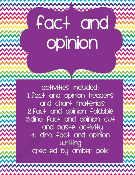 17 Best Images About Fact Opinion On Pinterest Fun