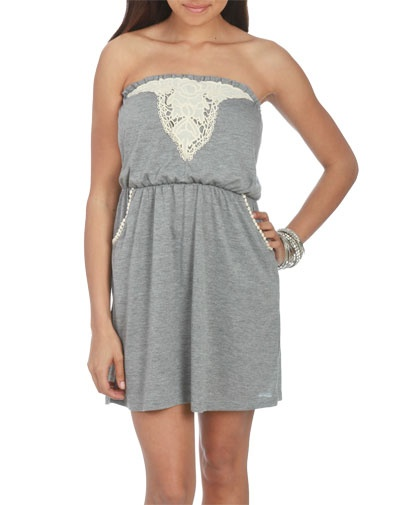 Crochet Trim Tube Dress...just bought :): Wet Seal Fashion, Dream Closet, Dress Just Bought, Tube Dress Just, Fashion Trends, Fashionista Ing