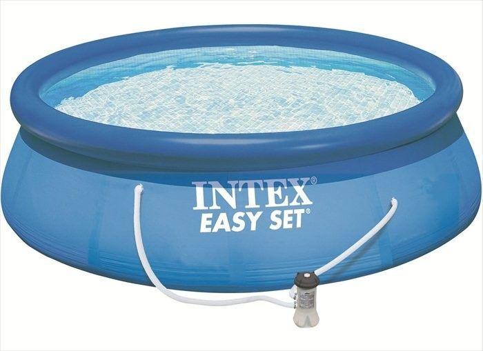 Zwembad Easy Set Incl. Filter/Pomp (Ø:396cm, H:84cm) (Intex) #zwembad #zwembaden #intex