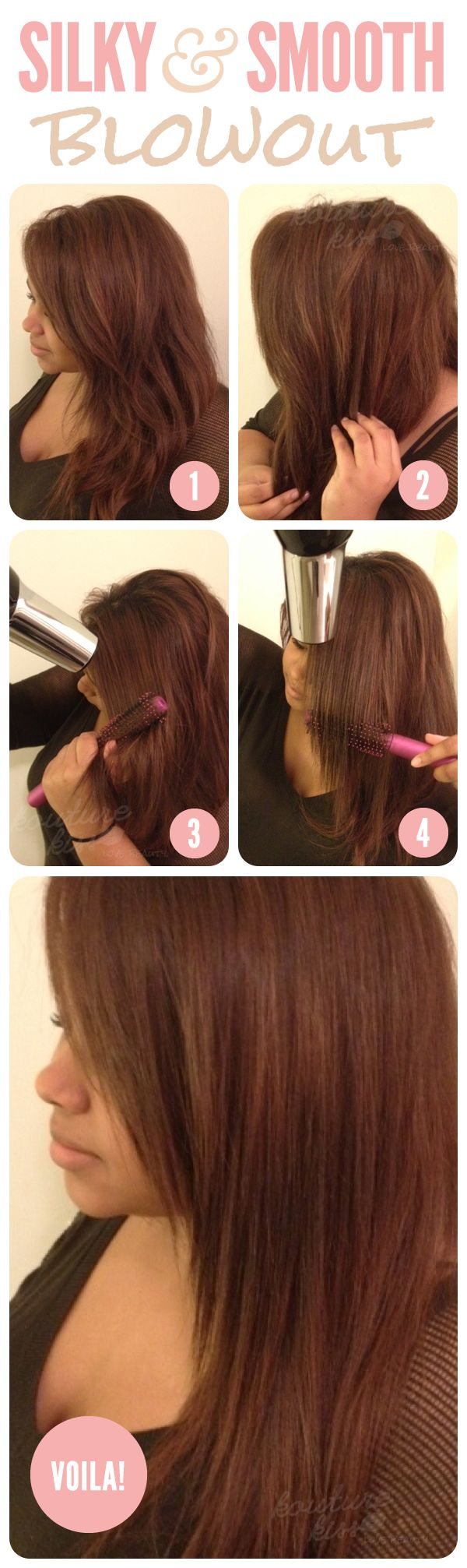 how to get less frizzy hair