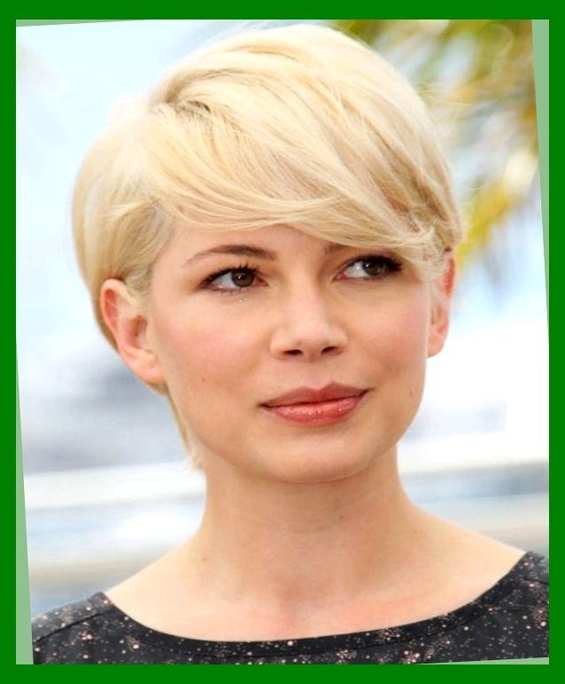 Stylish Hairstyles For Round Faces Hairstyles 2016 Best Pixie Cuts On Round Faces