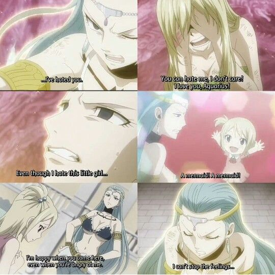 Lucy and Aquarius | Fairy Tail