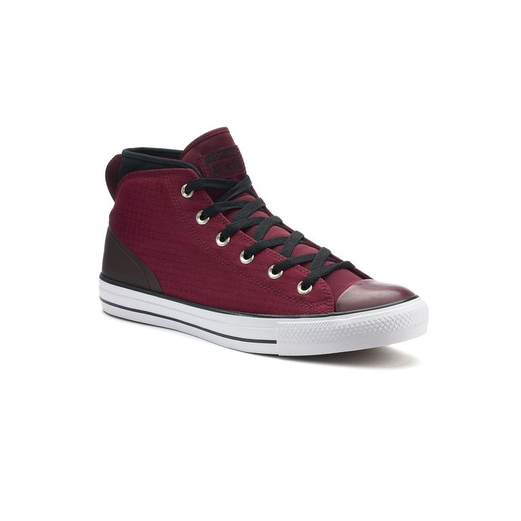 Men's Converse Chuck Taylor All Star Syde Street Winter Sneakers, Size: 10, Brt Red