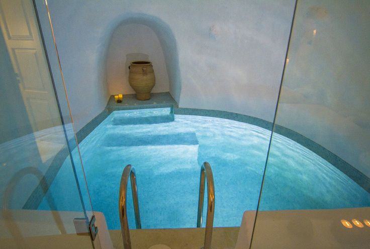 The perfect way to end off a soothing holistic massage at Iconic Santorini...