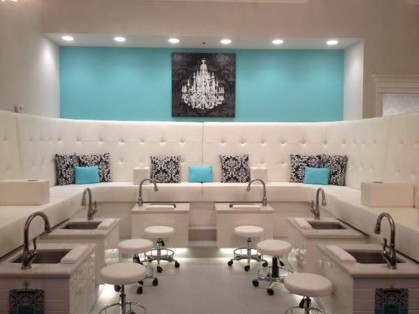 aqua salon decor - Google Search