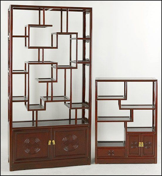 Contemporary Chinese Curio Cabinet On Asian Furniture