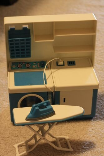 Vintage Imco Barbie Blythe Playscale Doll Washing Machine