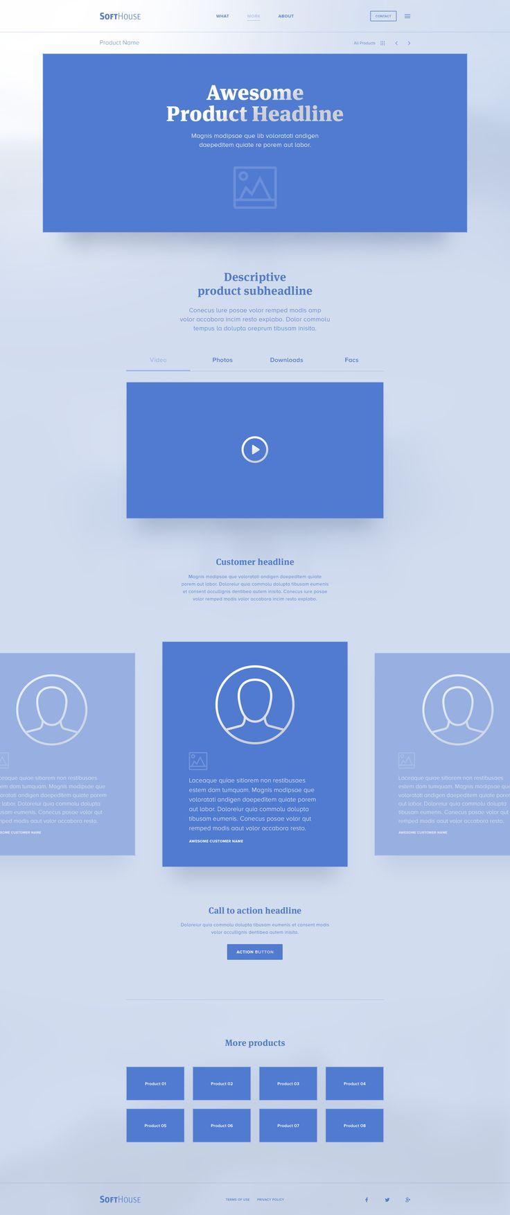 Softhouse hi fidelity blueprint wireframe productpage hi res