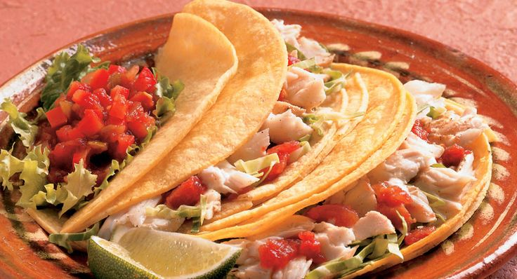 McCormick fish taco recipe. I'd never use tartar sauce, but other's might like it.