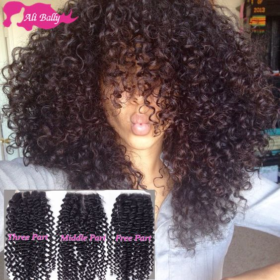 Brazilian Hair With Closure Wet And Wavy Virgin Brazilian Curly Hair With Closure Brazilian Kinky Curly Virgin Hair With Closure