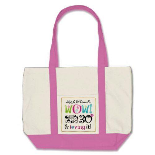 30th Anniversary Wow! Tote Bag