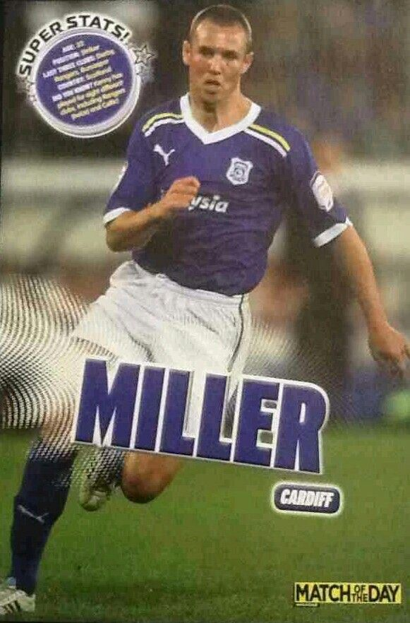 Kenny Miller of Cardiff City in 2011.
