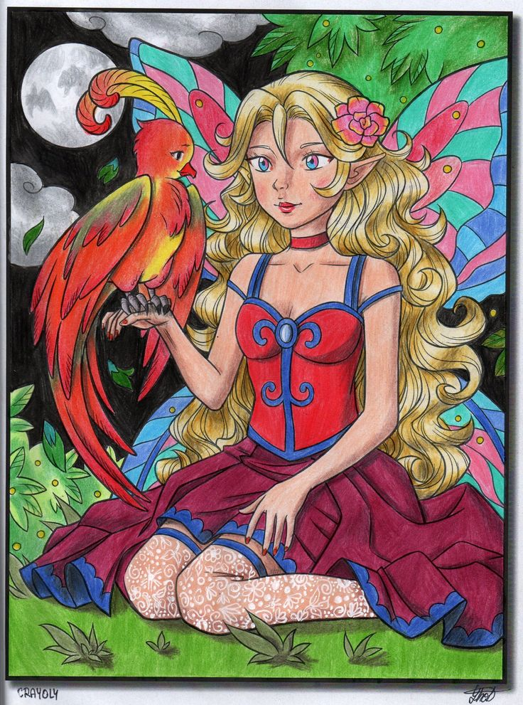 Cute Fairies Cute Fairy Fairy Gifts Coloring Books