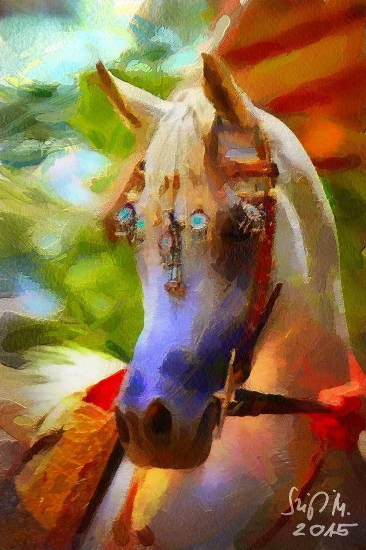 Check out White horse by Miklós Szigeti at eagalart.com