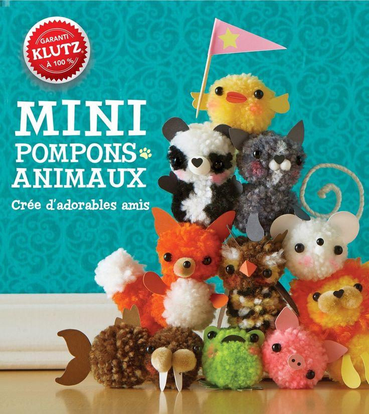 les 25 meilleures id es concernant animaux de pompons sur pinterest artisanat de pompons. Black Bedroom Furniture Sets. Home Design Ideas
