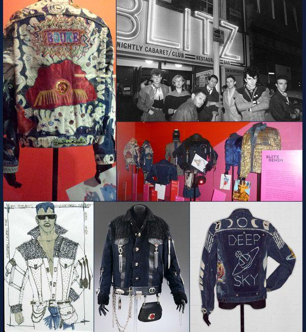 EXPOSIÇÃO - Club to Catwalk contempla a reinvenção da moda Londrina nos anos 80. Blog Guia JeansWear.