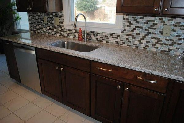 Arbeitsplatte Küche Granit Blue Pearl