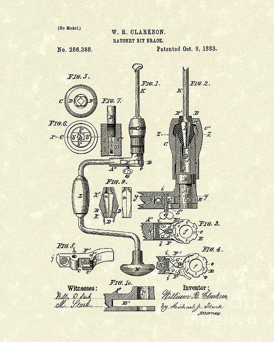 1888 bit brace patent